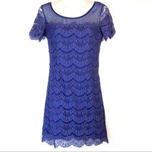 ▫️Gianni Bini▫️ mini lace dress